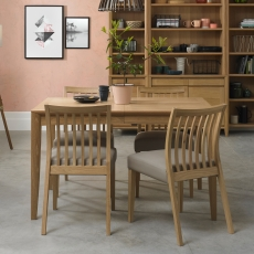 Cookes Collection Romy Medium Dining Table and 4 Chairs