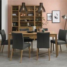 Cookes Collection Romy Large Dining Table and 6 Chairs