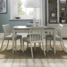 Cookes Collection Romy Painted Medium Dining Table and 4 Chairs