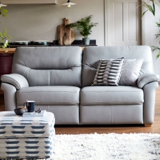 G Plan Seattle 2 Seater Sofa in Leather