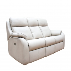G Plan Kingsbury 3 Seater Recliner Sofa in Leather