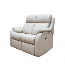 G Plan Kingsbury 2 Seater Recliner Sofa in Leather