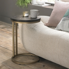 Cookes Collection Archie Peppercorn Ash Sofa Table