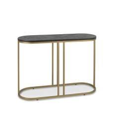Cookes Collection Archie Peppercorn Ash Console Table
