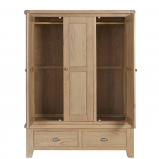 Cookes Collection Western 3 Door Wardrobe