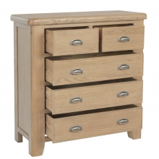 Cookes Collection Western 2 Over 3 Drawer Chest