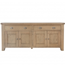 Cookes Collection Western 4 Door Sideboard