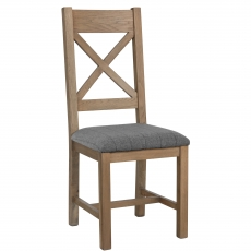 Cookes Collection Cross Back Dining Chair