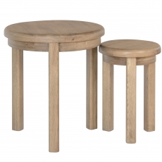 Cookes Collection Western Round Nest Of Tables