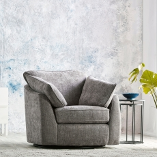 Cookes Collection Louvre Swivel Armchair