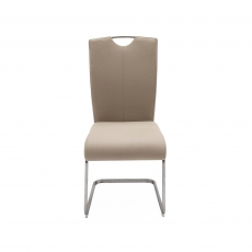 Cookes Collection Lewis Dining Chair Taupe