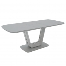 Cookes Collection Lewis Extending Dining Table Grey