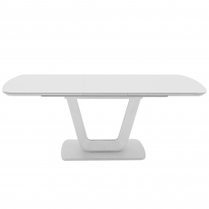 Cookes Collection Lewis Extending Dining Table White