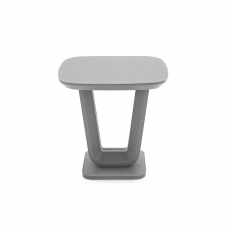 Cookes Collection Lewis Lamp Table Grey