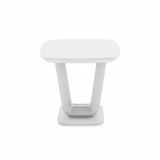 Cookes Collection Lewis Lamp Table White