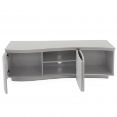 Cookes Collection Lewis TV Unit Grey