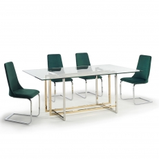 Select Dining Table and 4 Chairs