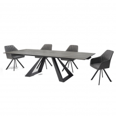 Spartan Dining Table and 4 Chairs