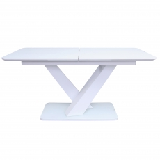 Cookes Collection Ralph Extending Dining Table White
