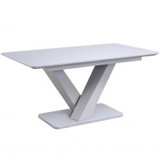 Cookes Collection Ralph Extending Dining Table Grey