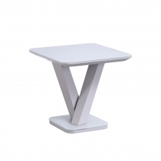 Cookes Collection Ralph Lamp Table Grey