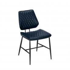 Cookes Collection Blue Daniel Dining Chair