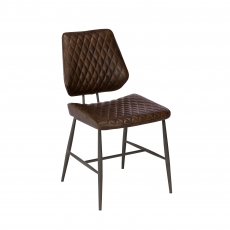Cookes Collection Brown Daniel Dining Chair