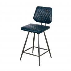Cookes Collection Blue Daniel Bar Chair