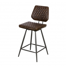 Cookes Collection Brown Daniel Bar Chair