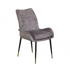The Cookes Collection Grey Sienna Dining Chair