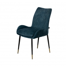 Cookes Collection Teal Sienna Dining Chair