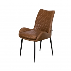 Cookes Collection Brown Sienna Dining Chair