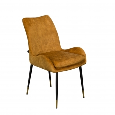 Cookes Collection Yellow Sienna Dining Chair