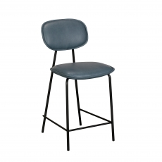 Cookes Collection Blue Claire Bar Chair