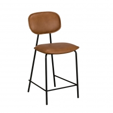 Cookes Collection Brown Claire Bar Chair