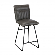 Cookes Collection Grey Jack Bar Chair