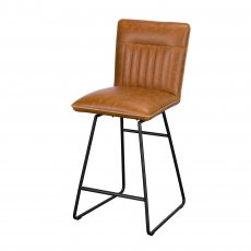 Cookes Collection Tan Jack Bar Chair
