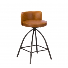 Cookes Collection Tan Dean Bar Stool