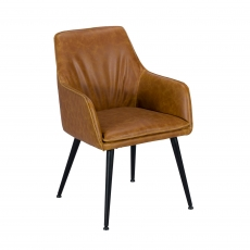 Cookes Collection Tan Owen Armchair