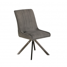 Cookes Collection Grey Charlotte Dining Chair