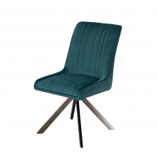 Cookes Collection Teal Charlotte Dining Chair