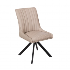 Cookes Collection Taupe Charlotte Dining Chair