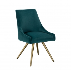 Cookes Collection Teal Isabella Dining Chair