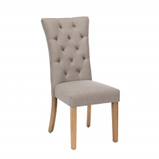 Cookes Collection Silver Louise Dining Chair