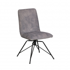 Cookes Collection Grey Lucy Dining Chair