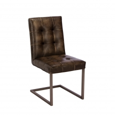 Cookes Collection Brown Harry Dining Chair