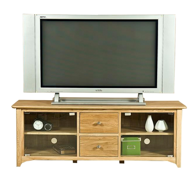 Cookes Collection Nobel Large TV Unit With Glass Doors