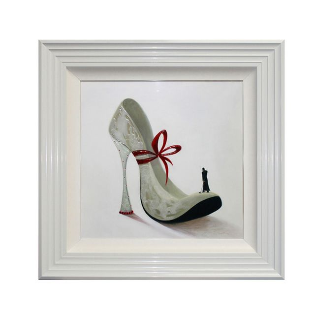 High Heels Romance Liquid Art