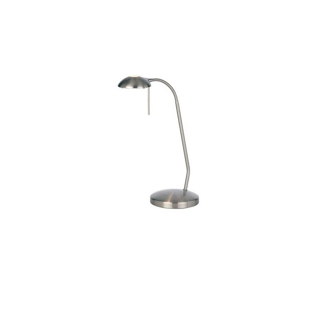 Satin Chrome G9 Touch Table Lamp
