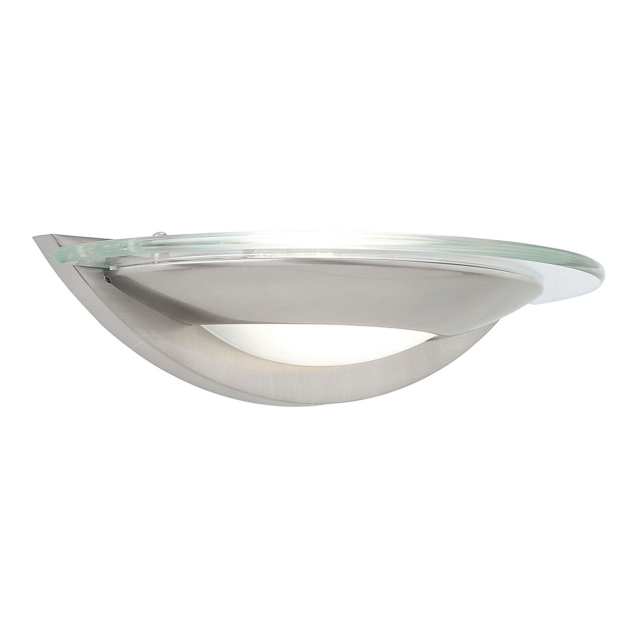 Satin Chrome Halogen Wall Bracket
